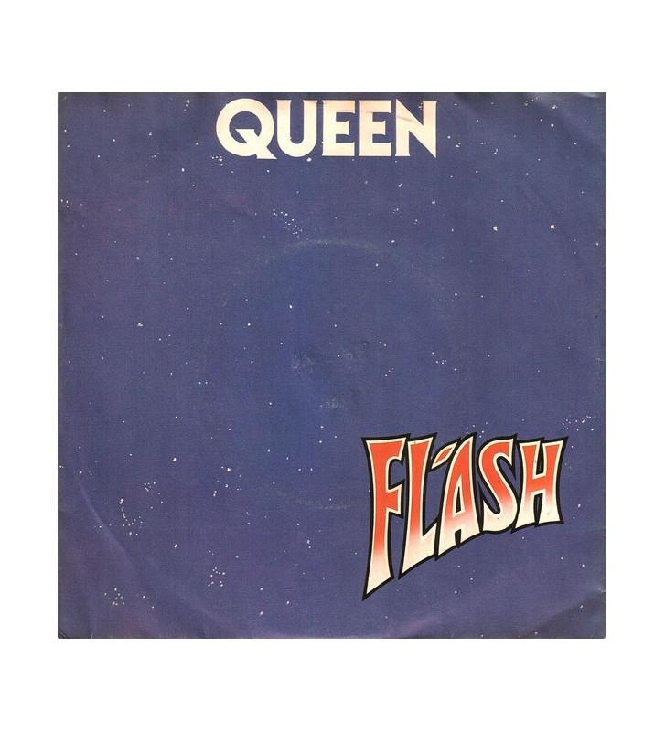 "Queen - Flash (7"", Single, Red) mesvinyles.fr"
