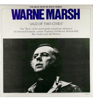 Warne Marsh - Jazz Of Two Cities (LP, Album, RE) mesvinyles.fr