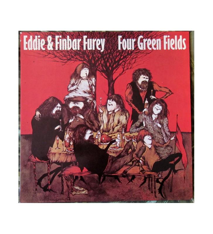 Eddie & Finbar Furey* - Four Green Fields (LP, Album) mesvinyles.fr