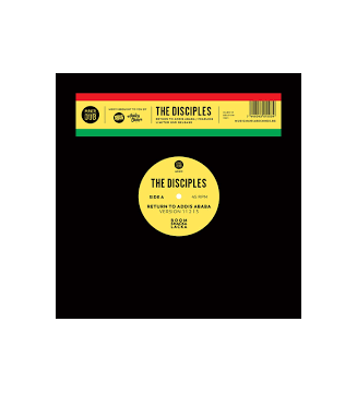 """THE DISCIPLES - RETURN TO ADDIS ABABA / FEARLESS (12"""" rsd 2021) mesvinyles.fr"""