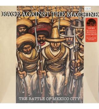 Rage Against The Machine - The Battle Of Mexico City (Ltd + LP, Red + LP, Gre) mesvinyles.fr