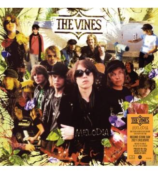 """THE VINES""""MELODIA  (VINYLE MARBRÉ JAUNE ET VERT)"""" rsd 2021 mesvinyles.fr"""