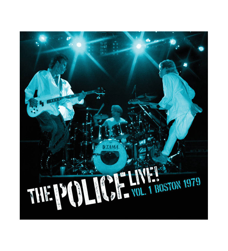 The Police - Live! Vol. 1 Boston 1979 (2xLP, Ltd, Blu) mesvinyles.fr
