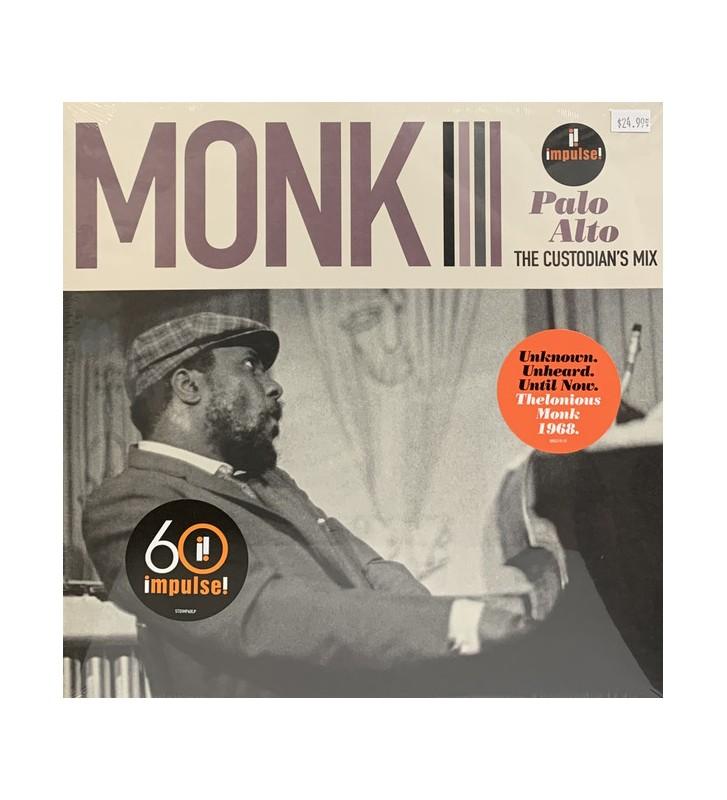 Thelonious Monk - Palo Alto: The Custodian's Mix (LP, Album, Ltd, Gat) mesvinyles.fr