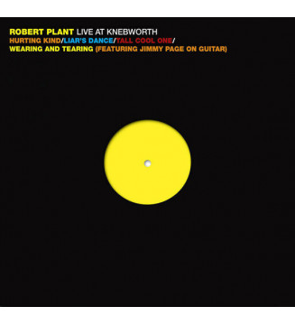 "Robert Plant - Live At Knebworth (12"", EP) mesvinyles.fr"
