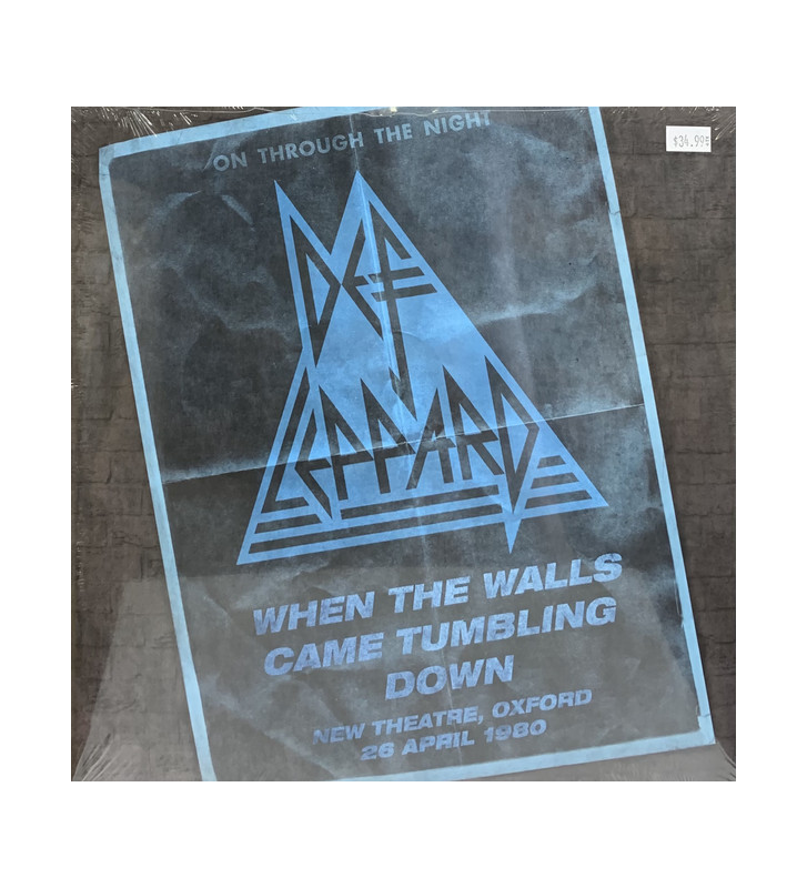Def Leppard - When The Walls Came Tumbling Down (New Theatre, Oxford - 29 April 1980) (2xLP) mesvinyles.fr