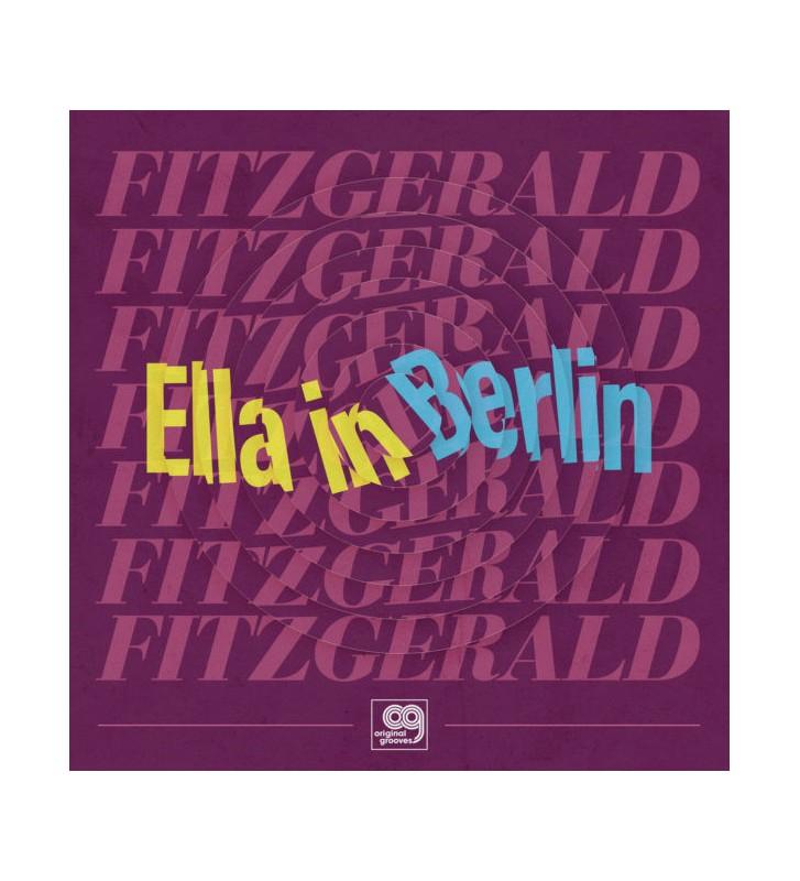 Fitzgerald, EllaOriginal Grooves – Ella in Berlin: Mack The Knife / Summertime rsd 2021 mesvinyles.fr
