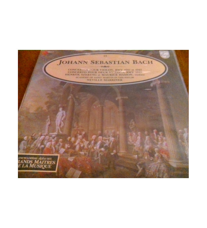 J.S. Bach* - The Academy Of St. Martin-in-the-Fields, Sir Neville Marriner - Concerto Pour Violons (LP, Album) mesvinyles.fr