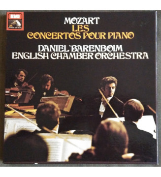 Mozart* - Daniel Barenboim, English Chamber Orchestra - Les Concertos Pour Piano (12xLP, RE + Box, Comp) mesvinyles.fr