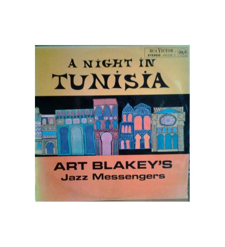 Art Blakey's Jazz Messengers* - A Night In Tunisia (LP, Album) mesvinyles.fr