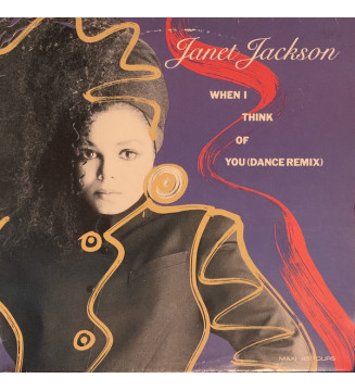 "Janet Jackson - When I Think Of You (Dance Remix) (12"", Maxi) mesvinyles.fr"