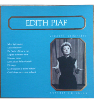 Edith Piaf - Versions Originales (3xLP, Album, Comp) mesvinyles.fr