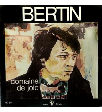 Jacques Bertin - Domaine De Joie (LP, Album) mesvinyles.fr
