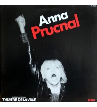 Anna Prucnal - Enregistrement Public Théatre De La Ville (LP, Album) mesvinyles.fr