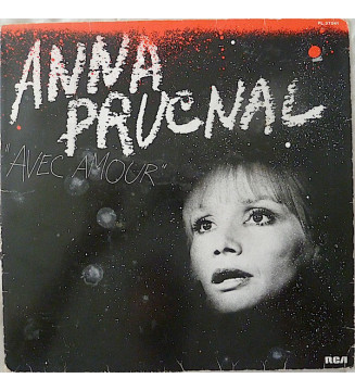 Anna Prucnal - Avec Amour (LP, Album) mesvinyles.fr