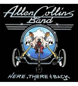 Allen Collins Band - Here, There And Back (LP, Album) mesvinyles.fr