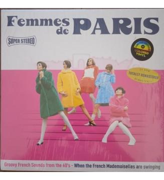 Various - Femmes De Paris  (LP, Comp, Pin) new mesvinyles.fr