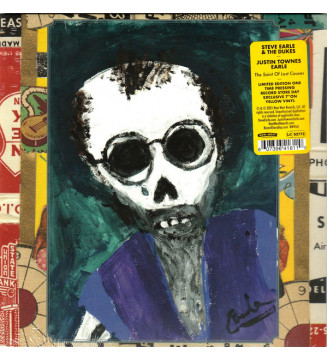 """Steve Earle & The Dukes / Justin Townes Earle - The Saint Of Lost Causes (7"""", Single, Ltd, Yel) new mesvinyles.fr"""