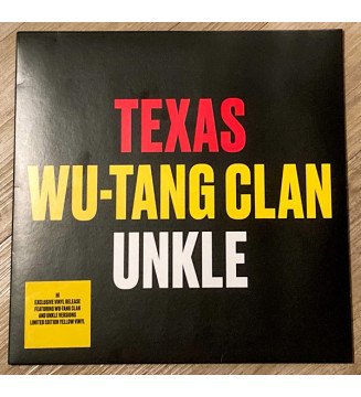 "Texas / Wu-Tang Clan / Unkle - Hi (12"", Ltd, Yel) new mesvinyles.fr"