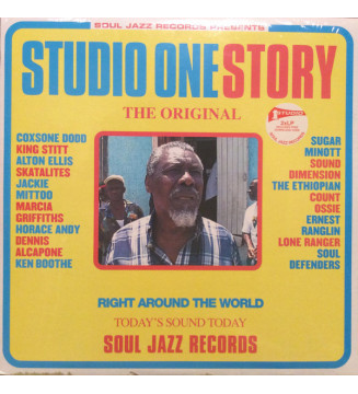 Various - Studio One Story (2xLP, Comp, RE) mesvinyles.fr