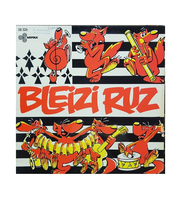 Bleizi Ruz - Bleizi Ruz (LP, Album, Gat) mesvinyles.fr