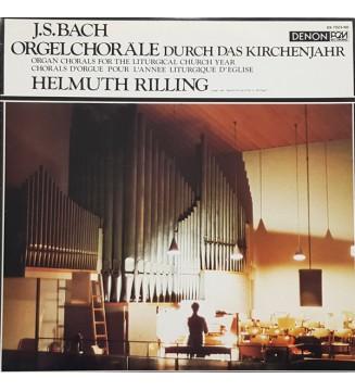 Helmuth Rilling, J.S. Bach* - Orgelchoräle Durch Das Kirchenjahr (LP, Album) mesvinyles.fr
