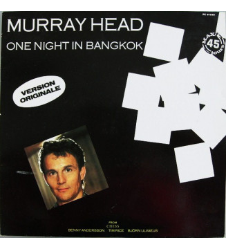 "Murray Head - One Night In Bangkok (Version Originale) (12"", Maxi) mesvinyles.fr"