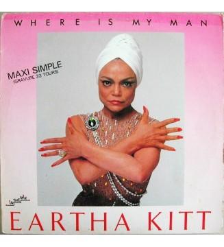 """Eartha Kitt - Where Is My Man (12"""", Maxi) mesvinyles.fr"""