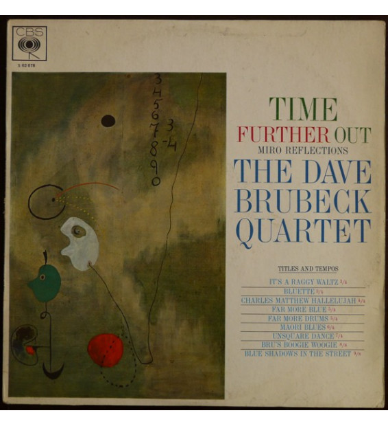 The Dave Brubeck Quartet - Time Further Out (Miro Reflections) (LP, Album)