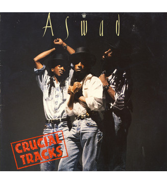 Aswad - Crucial Tracks (Best Of Aswad) (LP, Comp) mesvinyles.fr