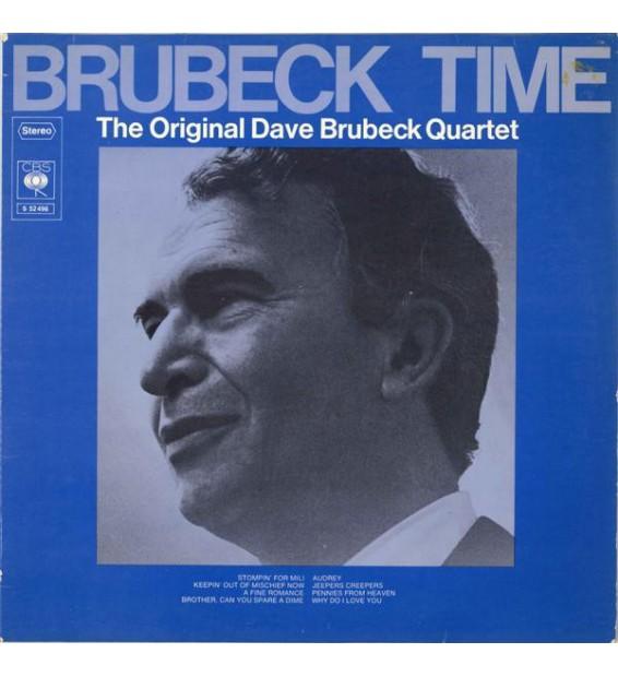 The Original Dave Brubeck Quartet* - Brubeck Time (LP, Album, RE)