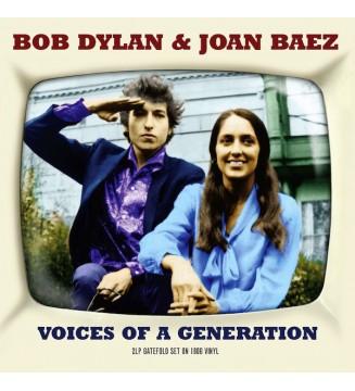 Bob Dylan & Joan Baez - Voices Of A Generation (2xLP, Comp) mesvinyles.fr