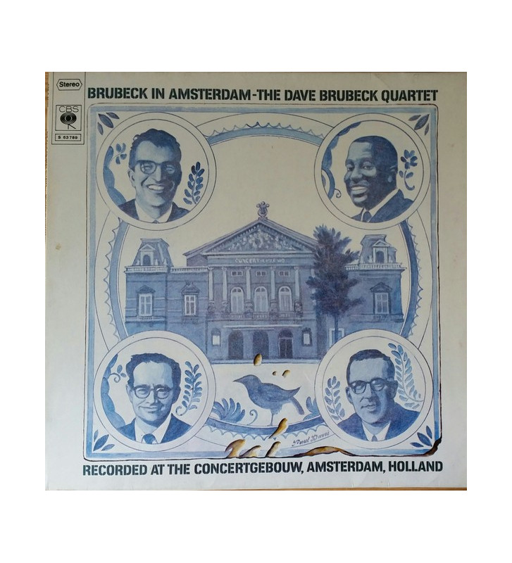 The Dave Brubeck Quartet - Brubeck In Amsterdam (LP, Album) mesvinyles.fr