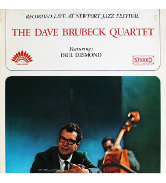 The Dave Brubeck Quartet Featuring: Paul Desmond - Recorded Live At Newport Jazz Festival (LP, Album) mesvinyles.fr