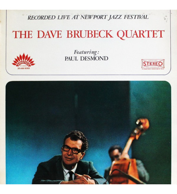 The Dave Brubeck Quartet Featuring: Paul Desmond - Recorded Live At Newport Jazz Festival (LP, Album) mesvinyles.fr