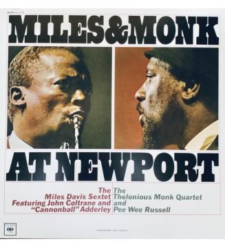 The Miles Davis Sextet & The Thelonious Monk Quartet - Miles & Monk At Newport (LP, Album, Mono, RM, 180) mesvinyles.fr