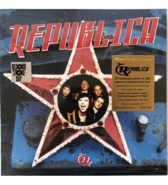 Republica - Republica (LP, Album, Ltd, Num, RE, Blu) mesvinyles.fr
