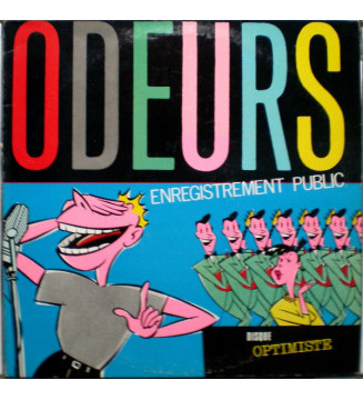 Odeurs - Enregistrement Public (LP) mesvinyles.fr
