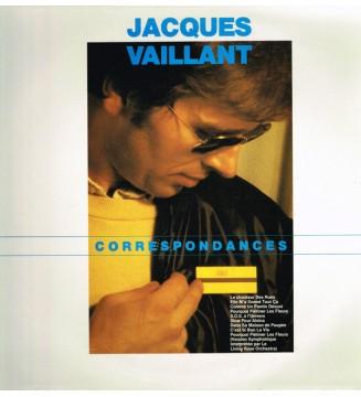 Jacques Vaillant - Correspondances (LP) mesvinyles.fr