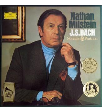 Nathan Milstein, J. S. Bach* - Sonaten & Partiten (3xLP) mesvinyles.fr