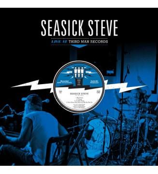 Seasick Steve - Live At Third Man Records (LP) mesvinyles.fr
