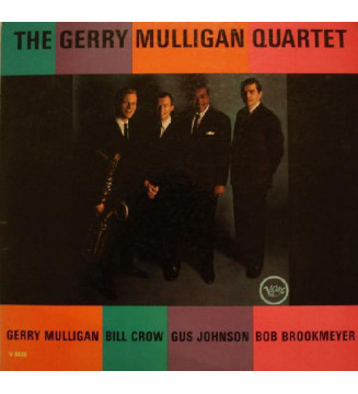 The Gerry Mulligan Quartet* - The Gerry Mulligan Quartet (LP, Album) mesvinyles.fr