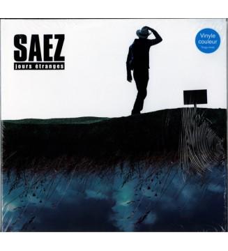 Saez - Jours Étranges (2xLP, Album, Ltd, RE, Tra) mesvinyles.fr
