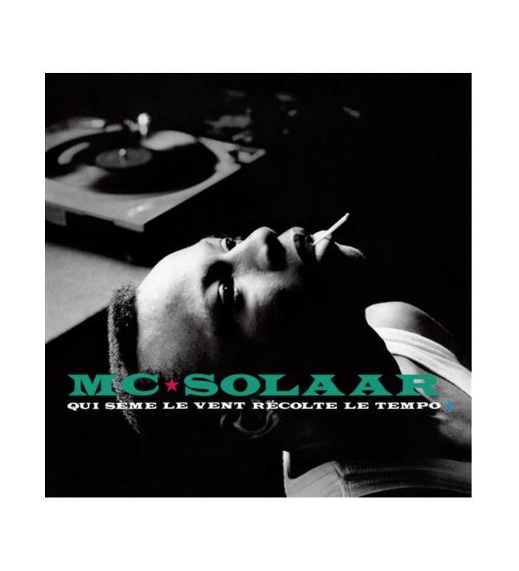 MC Solaar - Qui Sème Le Vent Récolte Le Tempo (LP, Album, RE) mesvinyles.fr