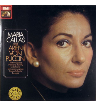 Maria Callas - Maria Callas Singt Arien Von Puccini (LP) mesvinyles.fr
