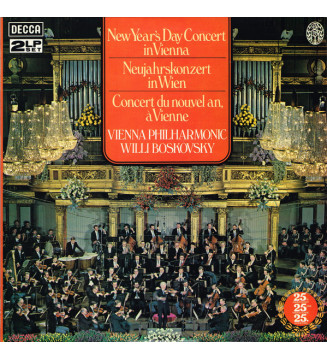 Vienna Philharmonic* / Willi Boskovsky - New Year's Day Concert In Vienna  Neujahrskonzert In Wien  Concert Du Nouvel An, A V me