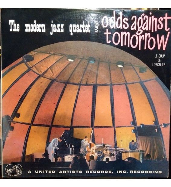 "The Modern Jazz Quartet - Music From ""Odds Against Tomorrow"" (Le Coup De L'Escalier) (LP, Album) mesvinyles.fr"
