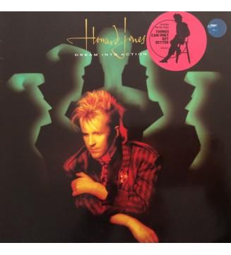 Howard Jones - Dream Into Action (LP, Album) mesvinyles.fr