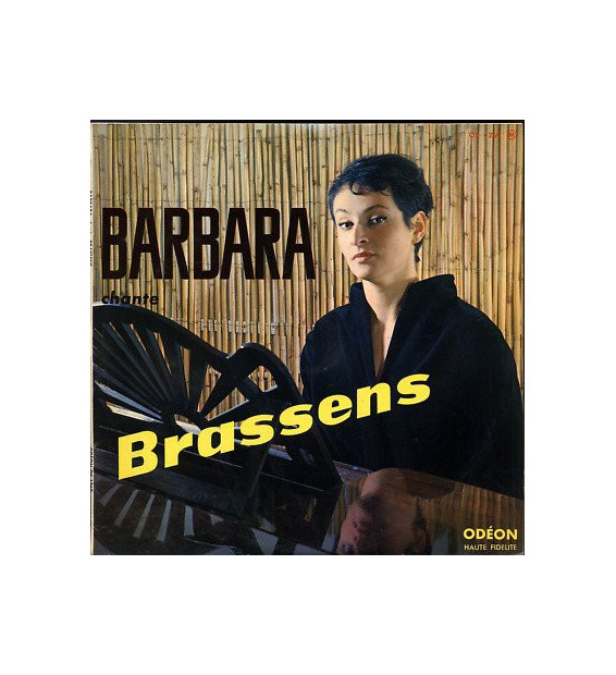 "Barbara (5) - Chante Brassens (10"", Album)"
