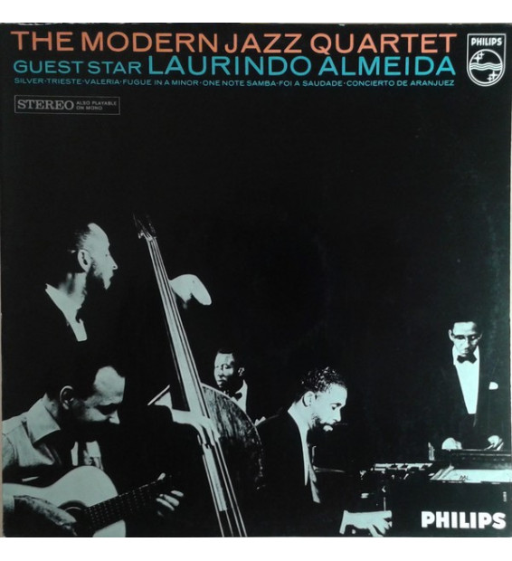 The Modern Jazz Quartet / Guest Star: Laurindo Almeida - The Modern Jazz Quartet - Guest Star: Laurindo Almeida (LP, Album) mesv